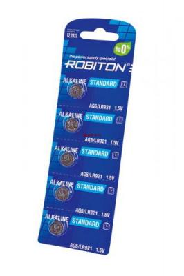 ROBITON STANDARD R-AG6-0-BL5 (0% Hg) AG6 LR921 370 LR69 МЦ-921 BL5
