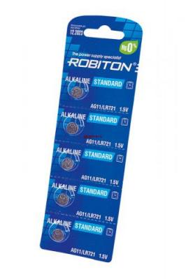ROBITON STANDARD R-AG11-0-BL5 (0% Hg) AG11 LR721 361 LR58 BL5