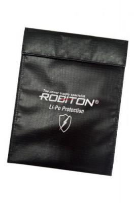 ROBITON Protection-L защитная сумка Li-po 23*29 см стекловолоконный пакет для аккумуляторных сборок PK1