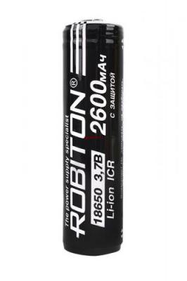 ROBITON 18650-2600 с защитой PK1