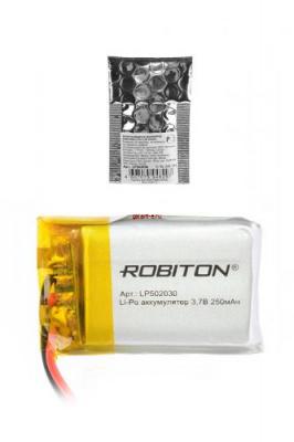 ROBITON LP502030 3.7В 250мАч PK1