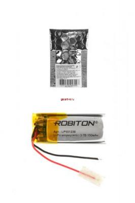 ROBITON LP551230 3.7В 150мАч PK1
