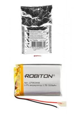 ROBITON LP963448 3.7В 1500мАч PK1