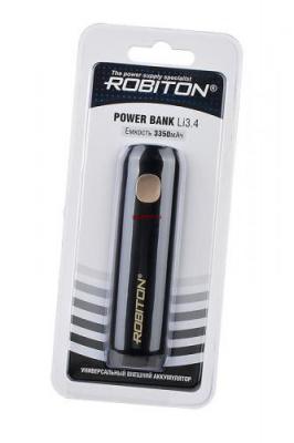 ROBITON POWER BANK Li3.4 COSMOS (черный) 3350мАч BL1