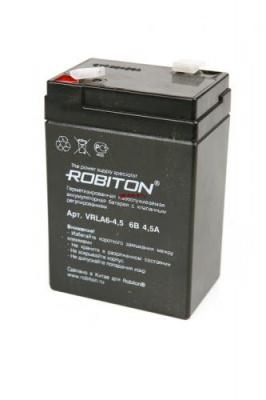 ROBITON VRLA6-4.5