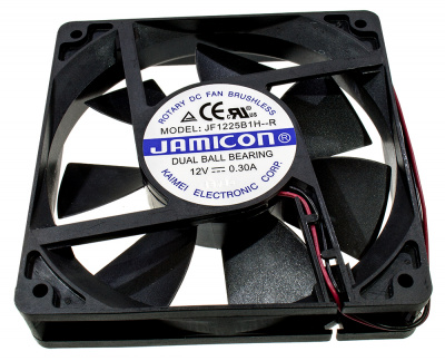 Вентилятор JF1225B1UR (2 провода, Авторестарт без сигнального провода)