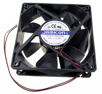 Вентилятор JF1238S2HR (2 провода, Авторестарт без сигнального провода)