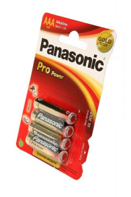 Panasonic Pro Power LR03PPG/4BP LR03 BL4