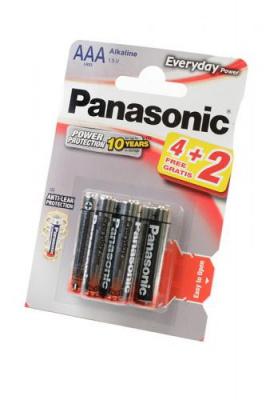 Panasonic Everyday Power LR03EPS/6BP 4+2F LR03 4+2шт BL6