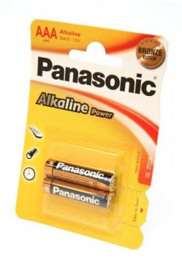 Panasonic Alkaline Power LR03APB/2BP LR03 BL2