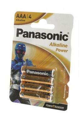 Panasonic Alkaline Power LR03 Power Rangers BL4