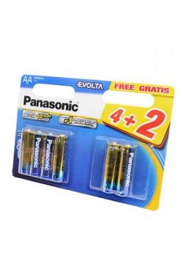 Panasonic EVOLTA LR6EGE/6BW 4+2F LR6 4+2шт BL6