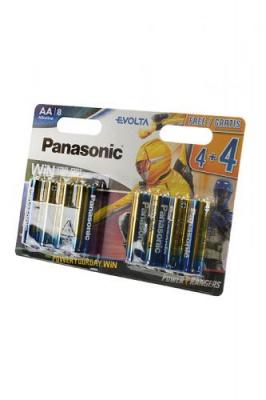 Panasonic EVOLTA LR6 4+4шт Power Rangers BL8