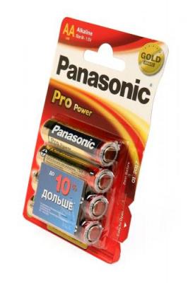 Panasonic Pro Power LR6PPG/4BP LR6 BL4