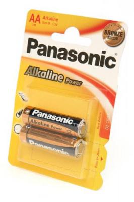 Panasonic Alkaline Power LR6APB/2BP RU LR6 BL2