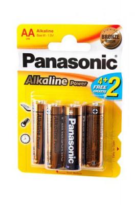 Panasonic Alkaline Power LR6APB/6BP 4+2F LR6 4+2 шт BL6
