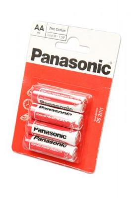 Panasonic Zinc Carbon R6RZ/4BP R6 BL4