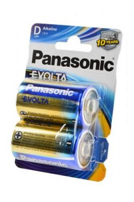 Panasonic EVOLTA LR20EGE/2BP LR20 BL2