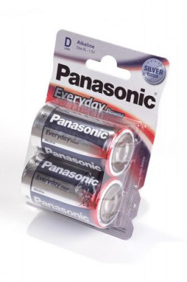 Panasonic Everyday Power LR20EPS/2BP LR20 BL2
