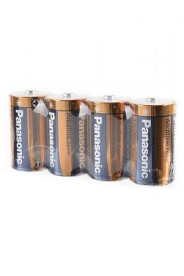 Panasonic Alkaline Power LR20APB/4P LR20  SR4, в упак 24 шт