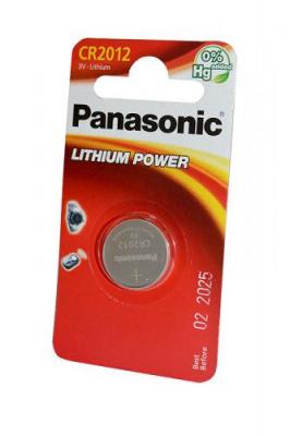 Panasonic Lithium Power CR-2012EL/1B CR2012 BL1