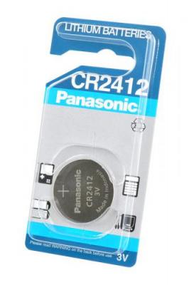 Panasonic Lithium batteries CR2412 BL1
