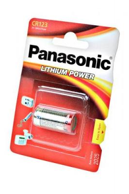Panasonic Lithium Power CR-123AL/1BP 123A BL1