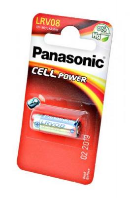 Panasonic Cell Power LRV08L/1BE LRV08 23A BL1 0%Hg