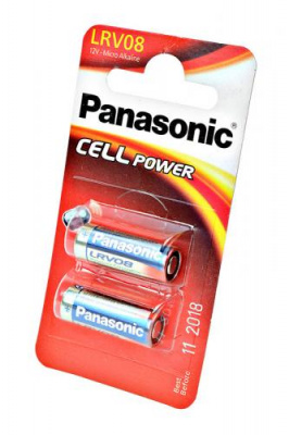 Panasonic Cell Power LRV08L/2BE LRV08 23A BL2