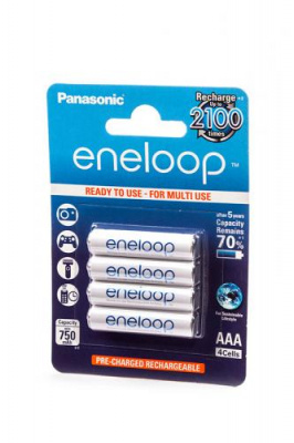 Panasonic eneloop BK-4MCCE/4BE 750мАч AAA BL4