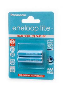 Panasonic eneloop lite BK-4LCCE/2BE 550мАч AAA BL2