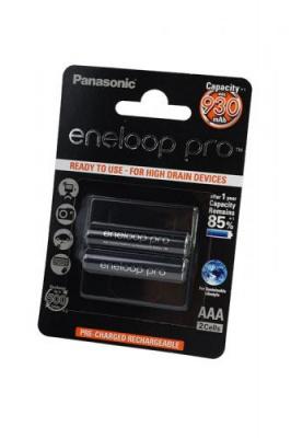 Panasonic eneloop pro BK-4HCDE/2BE 930мАч AAA BL2