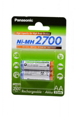 Panasonic BK-3HGAE/2BE 2700мАч AA BL2