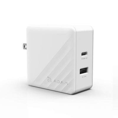 Сетевое зарядное устройство ADAM Elements OMNIA P5 USB-C PD / QC3.0 57W (белый)