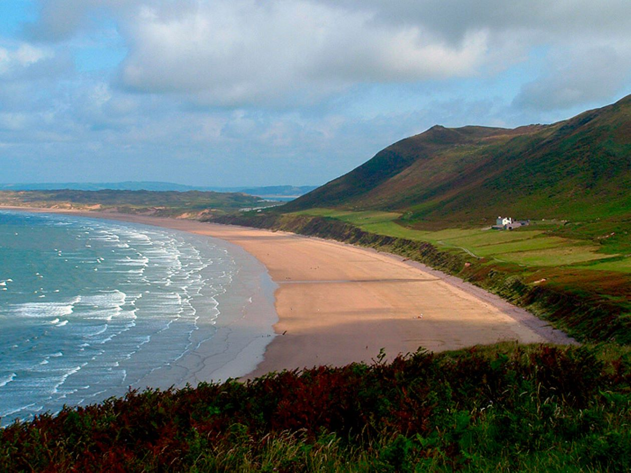 Top 10 beach destination in the UK. Wales: enjoy and study