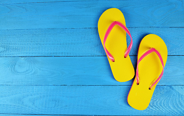 Word story – flip-flop