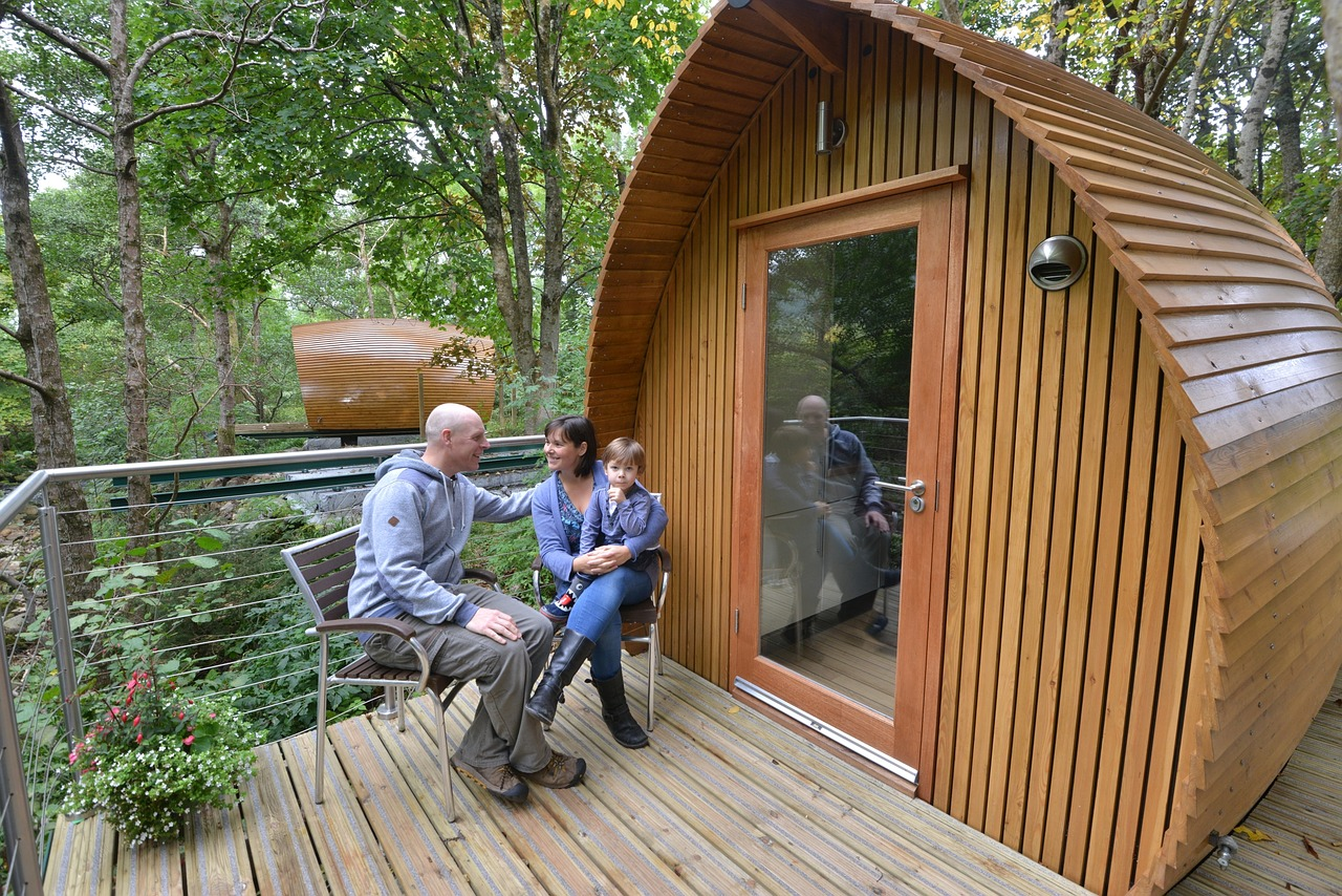 Word story – glamping