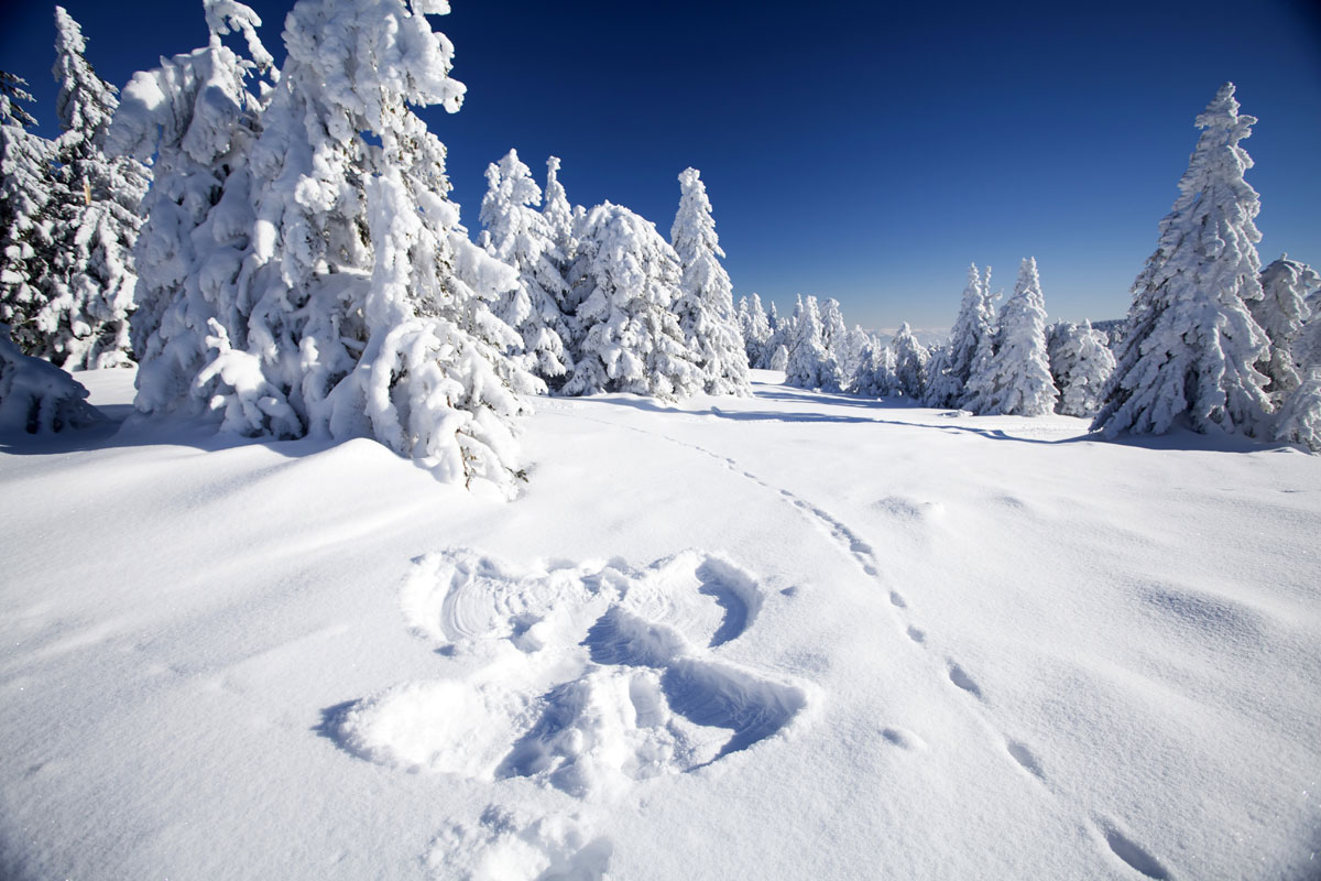 Word story – snow angel