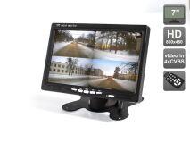 """Автомобильный монитор 7"""" со встроенным квадратором для установки на приборную панель AVIS Electronics AVS4715BM"""