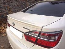 Спойлер лип для Toyota Camry V50 пустотелый