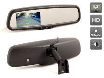 """Зеркало заднего вида со встроенным монитором 4.3"""" AVIS Electronics AVS0410BM"""