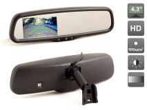 """Зеркало заднего вида электрохромное с функцией автозатемнения и встроенным монитором 4.3"""" AVIS Electronics AVS0415BM"""