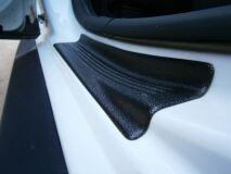 Накладки на пороги в проем задних дверей для Renault Duster и Nissan Terrano