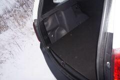 Накладки на боковые стенки в багажное отделение для Renault Duster и Nissan Terrano (матовые)
