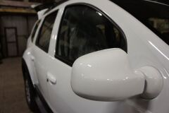 Накладки на зеркала из четырех частей для Renault Duster
