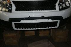 Решетка на бампер Bentley Style для Renault Duster