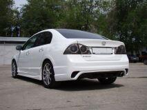 Бампер задний для Honda Civic 4d INGS Extreem