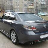 Козырек на стекло (узкий) для Mazda 6 2008-2012 Sedan