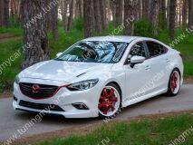 Клыки переднего бампера SkyActivSport для Mazda 6 2013-