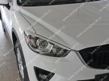 Реснички на фары для Mazda CX-5 var №2